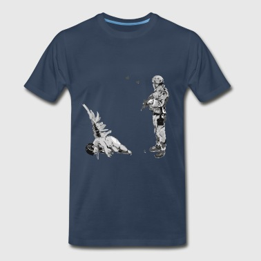 Banksy Fallen Angel Banksy Fallen Angel - Men's Premium T-Shirt