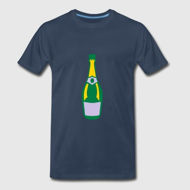 alcohol bottle champagne drink - Men's Premium T-Shirt