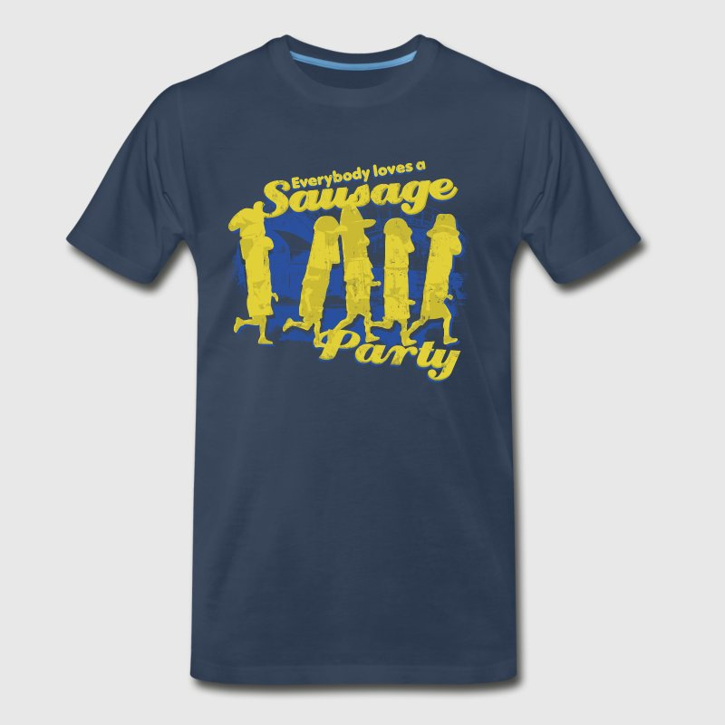 EVERYBODY LOVES A SAUSAGE PARTY Women's T-Shirts - Men's Premium T-Shirt
