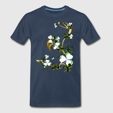 Shades Of Shamrocks - Men's Premium T-Shirt