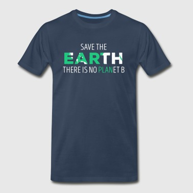 Save The Earth Ecology T-shirt - Men's Premium T-Shirt