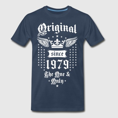 Original Since 1979 The One and Only Crown Wings - Men's Premium T-Shirt
