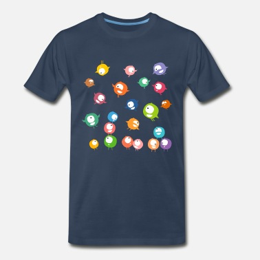 Little Creatures Hyperactive creatures - Men's Premium T-Shirt