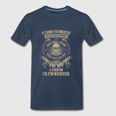 Cannon crewmember-I own it forever the title - Men's Premium T-Shirt