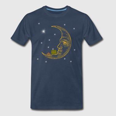 Camping On The Moon - Men's Premium T-Shirt