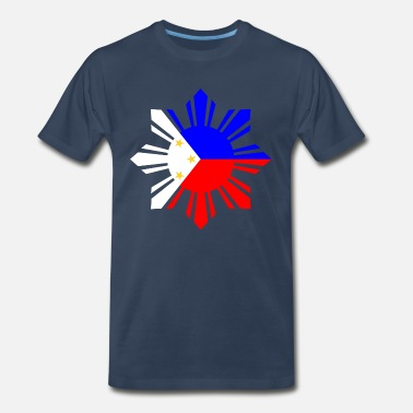 Philippine Philippines Flag - Men's Premium T-Shirt