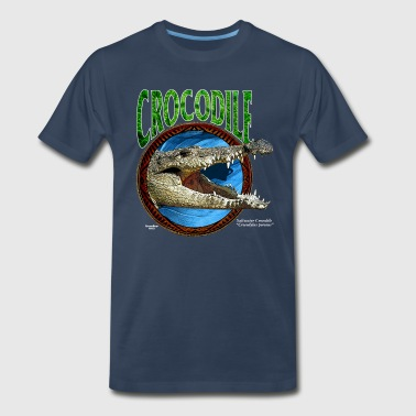 Saltwater Crocodile - Men's Premium T-Shirt