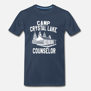 Friday Camp Crystal Lake Counselor - Friday The 13th    - Men's Premium T-Shirt