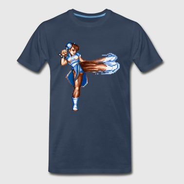 White Lies Chun Li - Men's Premium T-Shirt