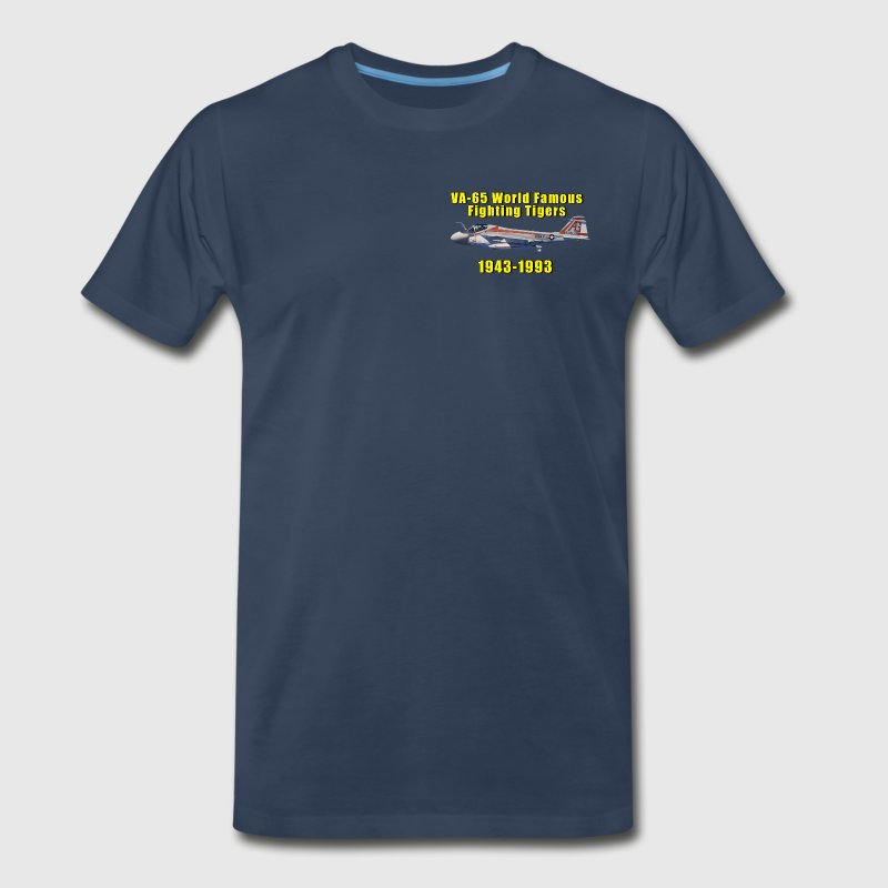 VA-65 A-6 Intruder Tribute Design - Men's Premium T-Shirt