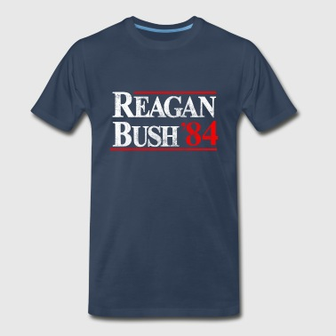 Reagan Bush '84 - Men's Premium T-Shirt