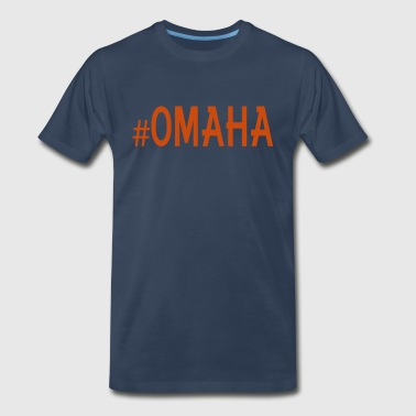 #OMAHA - Men's Premium T-Shirt