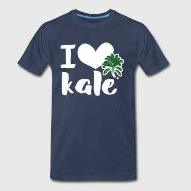 I love kale Shirt - Men's Premium T-Shirt
