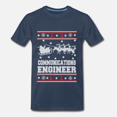Sexy Community Communications engineer-Christmas awesome sweater - Men's Premium T-Shirt