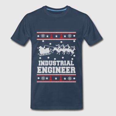 Industrial engineer-Engineer Christmas sweater - Men's Premium T-Shirt