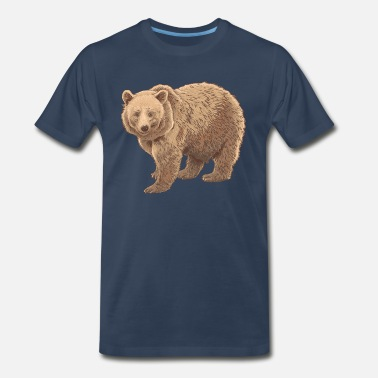 Kodiak kodiak bear - Men's Premium T-Shirt