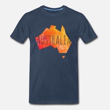 e6864fe70c27 Australia australia - Men s Premium T-Shirt