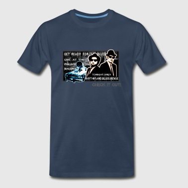 Shade Graffiti Blues Brothers are legend. - Men's Premium T-Shirt