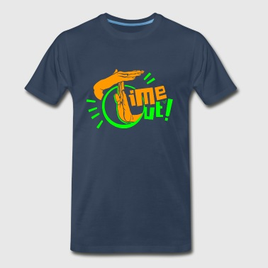 TIME OUT by Tai's Tees - Men's Premium T-Shirt