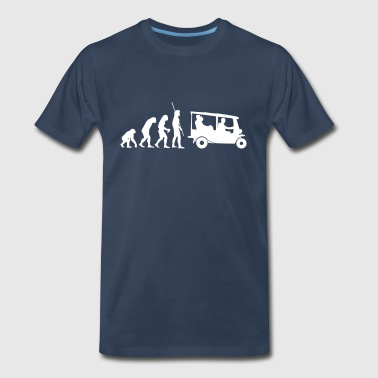 Tuk Tuk Taxi Evolution Tuk Tuk - Men's Premium T-Shirt