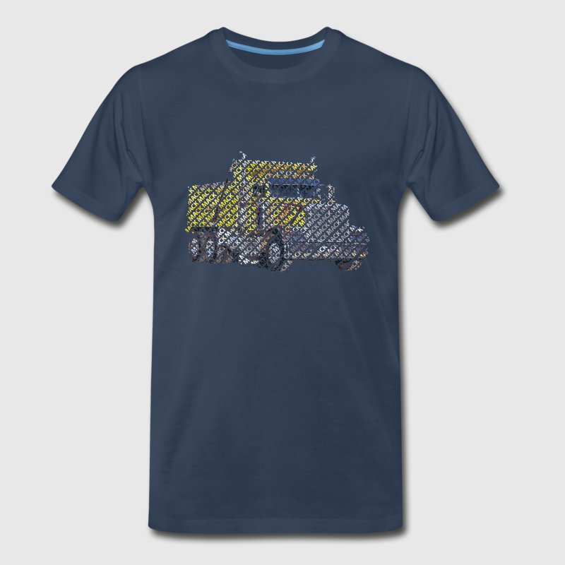 Mack Truck Word Print - Men's Premium T-Shirt