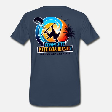 Kite Kite Boarding Logo  - Men's Premium T-Shirt