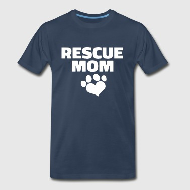 Rescue Mom - Men's Premium T-Shirt