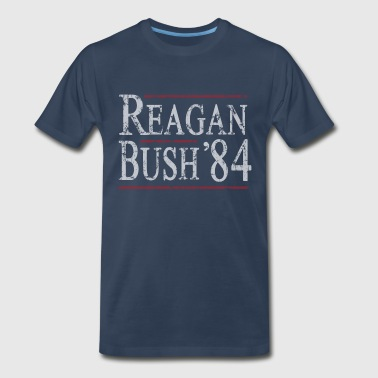 Reagan Bush 84 - Men's Premium T-Shirt