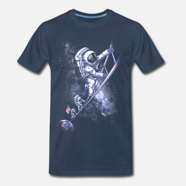 Buzz Aldrin July 1969 - Men's Premium T-Shirt