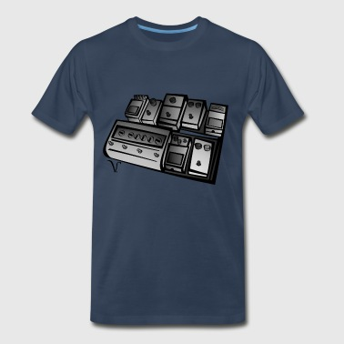 Pedalboard [2] - Persephone Productions - Men's Premium T-Shirt