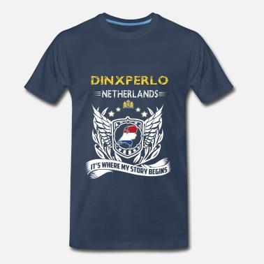 Holland Football Dinxperlo Netherlands-where my story begins - Men s  Premium T-Shirt 980a1f235