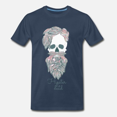 d31321ceb Graphic Hipster is dead - Men s Premium T-Shirt