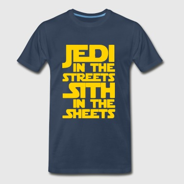 Jedi in the Streets Sith in the Sheets - Men's Premium T-Shirt