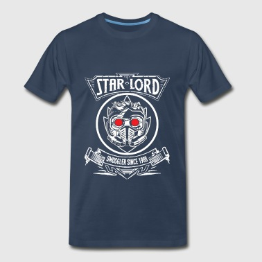 42 The Hitchhikers Guide To The Galaxy Peter Quill – Star Lord – Smuggler since 1988 - Men's Premium T-Shirt