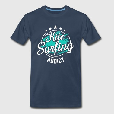 Kitesurfer Kiteboarder Cool Funny Sayings Tee Gift - Men's Premium T-Shirt