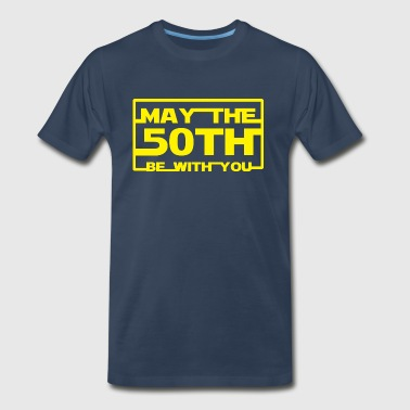 May the 50th be with you - Men's Premium T-Shirt