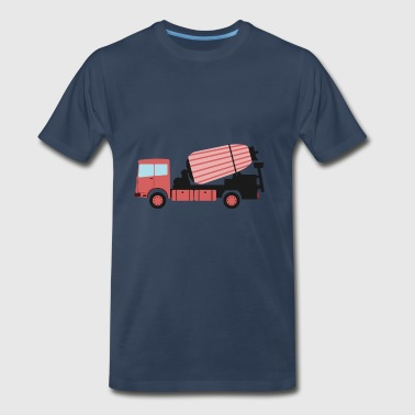 cargo transport truck vehicle cars 38 - Men's Premium T-Shirt