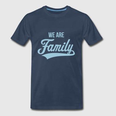 Holiday We Are Family - Men's Premium T-Shirt