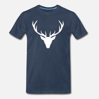 Stag And Doe Stag - Men's Premium T-Shirt