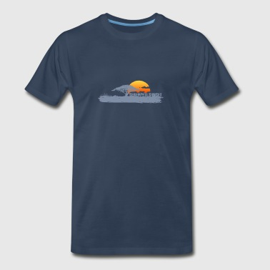 African Sunset  - Men's Premium T-Shirt