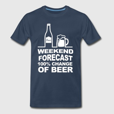 Forecast Weekend Forecast - Men's Premium T-Shirt