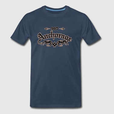 Anchorage 907 - Men's Premium T-Shirt