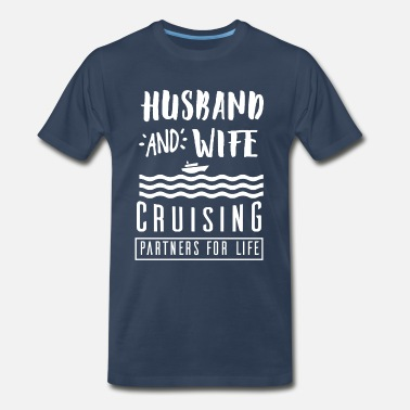 Husband Wife To Be Husband and wife - Men's Premium T-Shirt