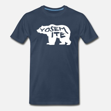 Yosemite - Bear - Men's Premium T-Shirt