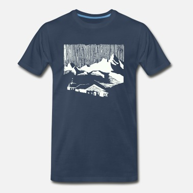 Village Mountain Village - Men's Premium T-Shirt