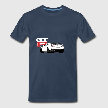 Japanese Cars Nissan GTR R35 2017 - Men's Premium T-Shirt