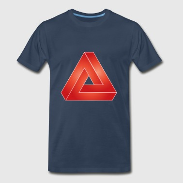 Prisma Red - Men's Premium T-Shirt