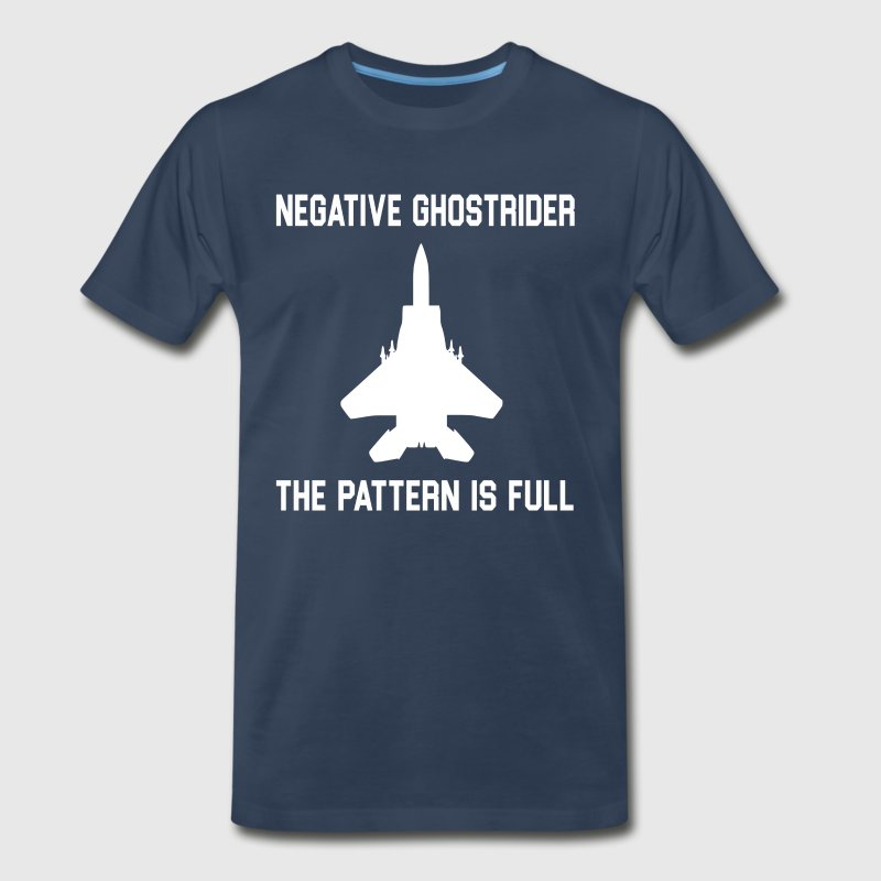 Negative Ghostrider The Pattern Is Full - Men's Premium T-Shirt