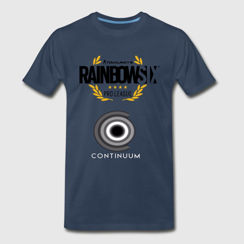 Rainbow Six Seige Pro League Continuum - Men's Premium T-Shirt
