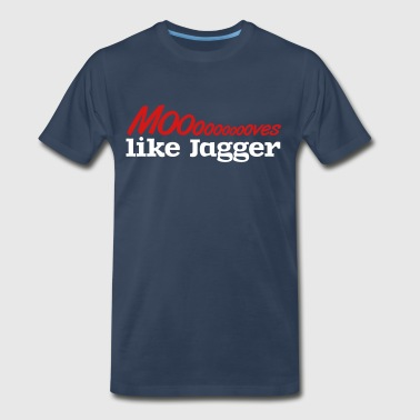 Moves like jagger - Men's Premium T-Shirt